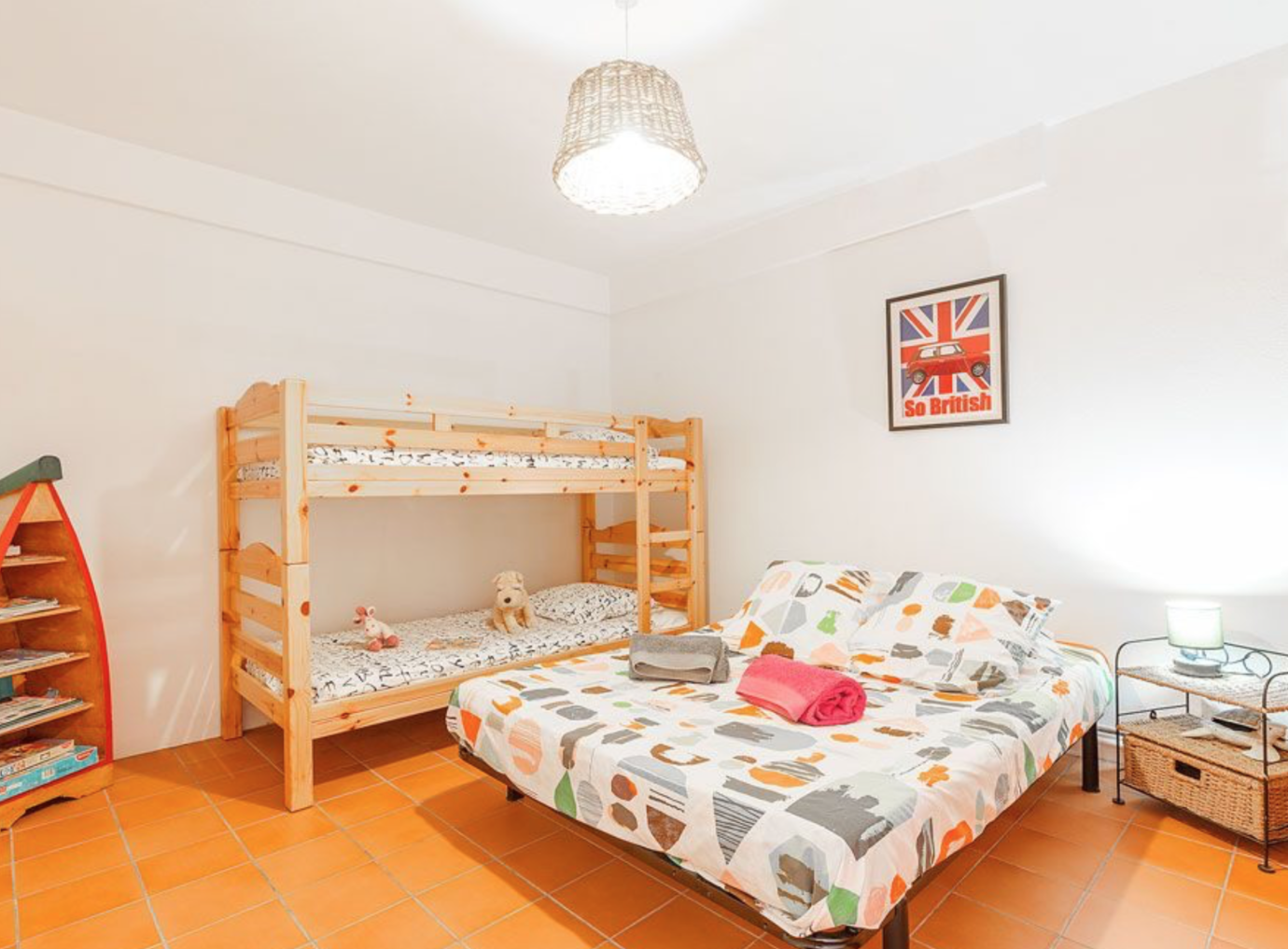 Ferienwohnung french riviera giens hyeres Papa-Iti bed