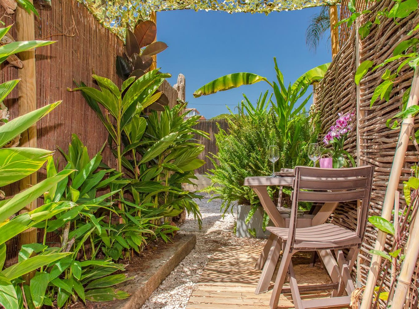 Studio french riviera giens hyeres Moorea outdoor